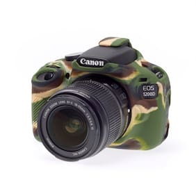 easyCover Armor Protective Skin for Canon EOS Rebel T5 / 1200D (Camouflage)