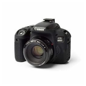 easyCover Armor Protective Skin for Canon EOS Rebel T7i / 800D (Black)