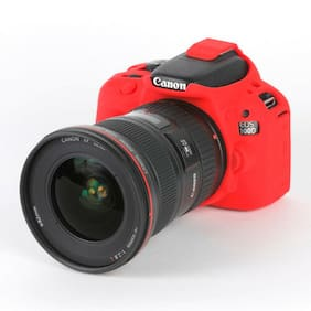 easyCover Armor Protective Skin for Canon EOS Rebel SL1 / EOS 100D (Red)