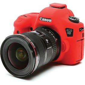 easyCover Canon 6D EA-ECC6DR Camera Protective Case Red Silicone FREE SHIPPING