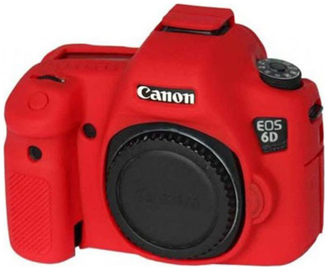 EasyCover Canon 6d Camera case   Red