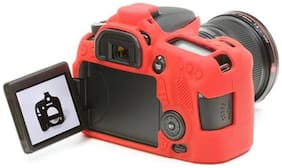 EasyCover Camera Case For Canon 70D (Red)