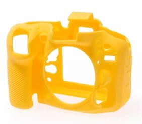 easyCover Nikon D7100 / D7200 Yellow Silicone Protective Camera Cover ECND7100Y