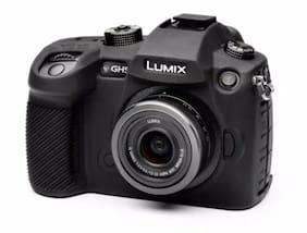 easyCover Panasonic GH5 / GH5s Camera Case Black Silicone Free US Shipping NWB