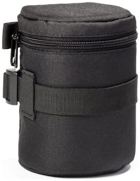 "easyCover Padded Lens Case 85 x 130 mm (3.35"" x 5.12"") Black"