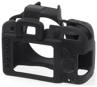 easycover protective silicone cover DSLR camera case for  NIKON D3300 Black