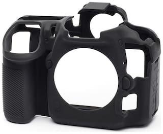 easycover protective silicone cover DSLR camera case for  NIKON D500 Black