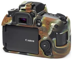 easycover protective silicone cover DSLR camera case for  CANON 80D camouflage