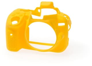 easycover protective silicone cover DSLR camera case for  NIKON D5300 YELLOW