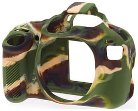 easycover protective silicone cover DSLR camera case for  CANON 1200D camouflage