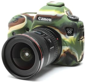 easycover protective silicone cover DSLR camera case for  canon 6D camouflage