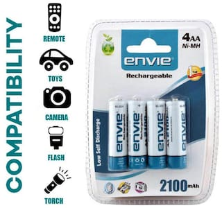 Envie 4PL-2100Mah Ni-MH Rechargeable Battery