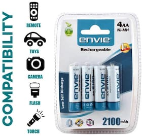 Envie 4PL-2100Mah Ni-MH Rechargable Battery