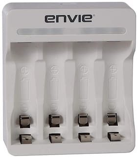 ENVIE Rio ECR-22 Charger for AA & AAA Rechargeable Batteries
