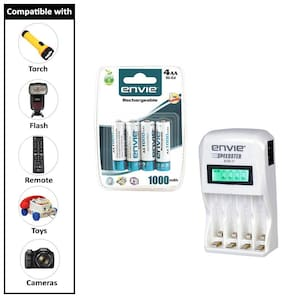 Envie Stealodeal Speedster ECR-11 + 4xAA 1000 Ni-CD rechargeable  Battery Charger