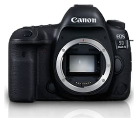 Canon EOS 5D Mark IV 30.4 MP DSLR Camera (Black) Body Only