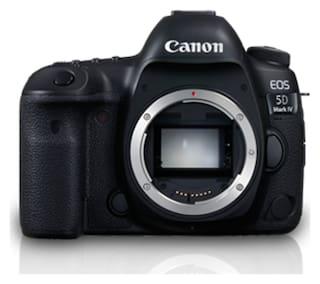 Canon EOS 5D Mark IV 30.4 MP DSLR Camera (Black) Body Only