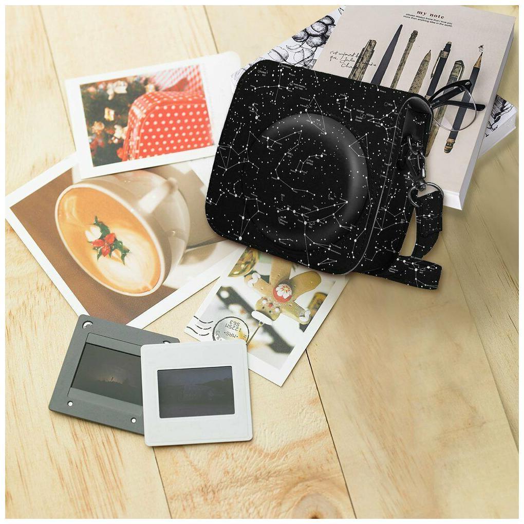 Fintie Leather Bag Case For Fujifilm Instax Mini 9/Mini 8/Mini 8+ Instant Camera
