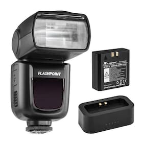 Flashpoint Zoom Li-on R2 TTL On-Camera Flash S/L For Canon(V860II-C)+USB Charger