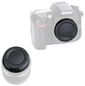 FND for Nikon Rear Lens Cap LF-4 & Body Cap BF-1B (Set of 2)