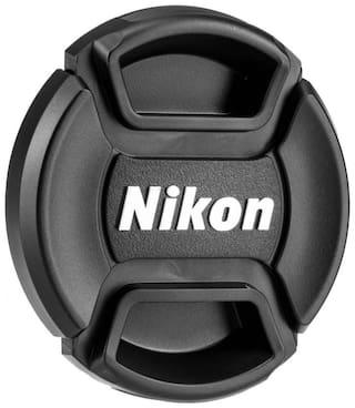 FND LC-55A for Nikon AF-P DX 18-55mm f/3.5-5.6G VR Lens Cap (Black  55 mm)