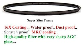 FND  MULTICOATED, Water Proof, DUST Proof, 16X Coating UV Filter (Includes Filter case) (86MM)