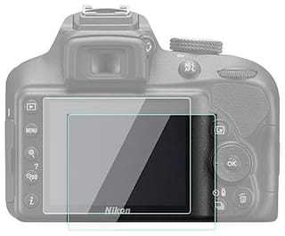 FND Tempered Glass for  for nikon D3300 9H Premium Tempered Glass, HD crystal Clear & high transparency, bubble free ,Self-adhesive