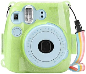 For Fujifilm Instax Mini 8 8+ Mini 9 Instant Camera Clear Case Crystal PVC Cover