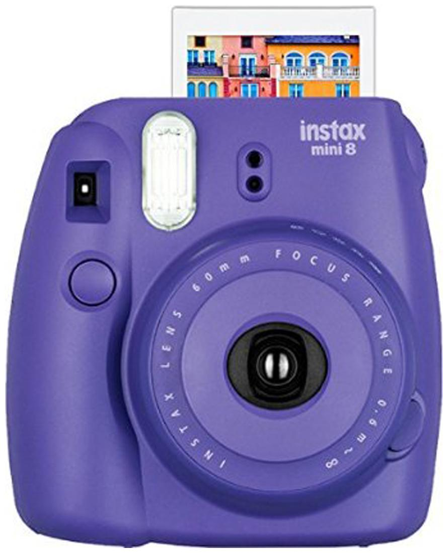 Fujifilm Instax Mini 8 0.6 MP Instant Camera  Grape