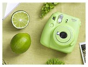 Fujifilm Fujifilm instax mini 9 joybox (lime green) Instax mini 9 joybox 0.6 mp Instant Camera ( Green )