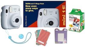 Fujifilm Instax Mini 11 Mega Pack (Ice White)