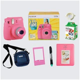 Fujifilm Instax Mini 9 Joybox 0.6 MP Instant Camera ( Pink )