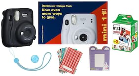 Fujifilm Instax Mini 11 Mega Pack (Charcoal Grey)