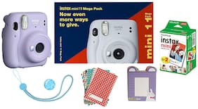 Fujifilm Instax Mini 11 Mega Pack (Lilac Purple)
