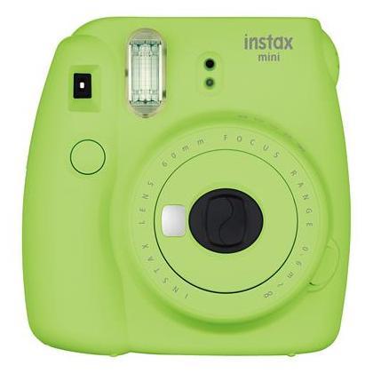 Fujifilm Instax Mini 9 0.6 MP Instant Camera  Lime Green