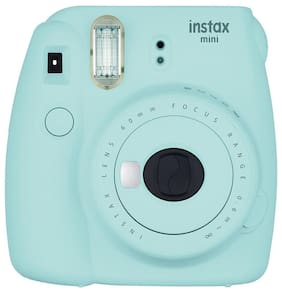 Fujifilm Instax Mini 9 0.6 MP Instant Camera (Ice Blue)