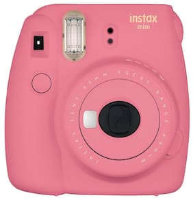 Fujifilm Instax Mini 9 0.6 MP Instant Camera (Flamingo Pink)