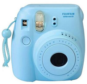 Fujifilm Instax Mini 8 0.6 MP Instant Camera (Blue)
