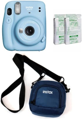 Fujifilm Instax Mini 11 0.1 MP Instant Camera ( Blue )