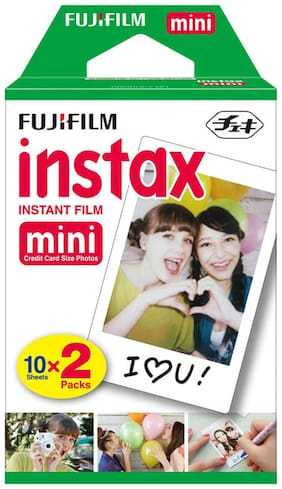 Fujifilm Instax Mini Twin Instant Films (20 Photos)