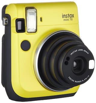 Fujifilm Instax mini 70 Instax mini 70 0.6 mp Instant Camera ( Yellow )