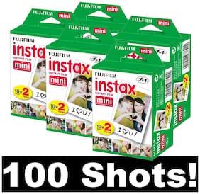 Fujifilm Instax Mini Ww 5 Instant Films 100 (Photos)