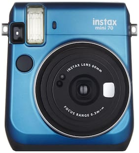 Fujifilm Instax mini 70 Instax mini 7 0.6 mp Instant Camera ( Blue )