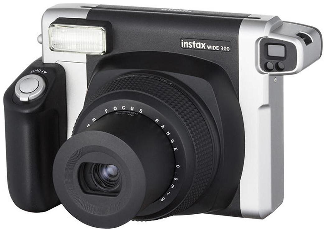 Fujifilm Instax Wide 300 0.9 MP Instant Camera  Black  by Photo Vatika