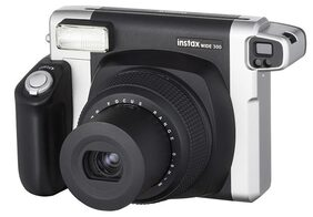 Fujifilm Instax Wide 300 0.9 MP Instant Camera (Black)