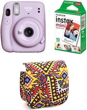 Fujifilm Instax Mini 11 - Lilac Purple 0.1 MP Instant Camera ( Purple )