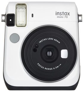 Fujifilm Instax Mini 70 0.6 MP Instant Camera (White)