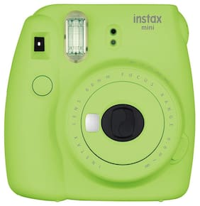 Fujifilm Instax Mini 9 0.6 MP Instant Camera (Lime Green)