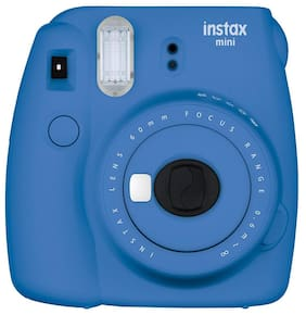 Fujifilm Instax Mini 9 0.6 MP Instant Camera (Cobalt Blue)