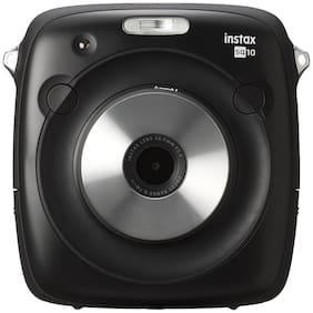 Fujifilm Instax square sq10 hybrid Instax square instant film - 10 exposures 0.6 mp Instant Camera ( Black )